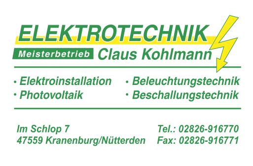 Elektrotechnik Kohlmann